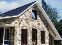 Монтаж фасадов, облицовка зданий кирпичом и камнем в Миассе